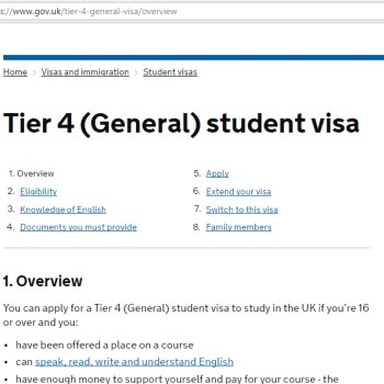 UK student visa application consultancy
