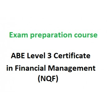 ABE Level 3 Certificate in Financial Management (NQF) - exam preparation