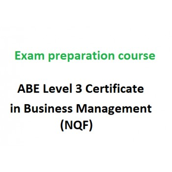 ABE Level 3 Certificate in Business Management (NQF) - exam preparation